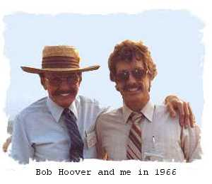 Bob Hoover and me in 1966