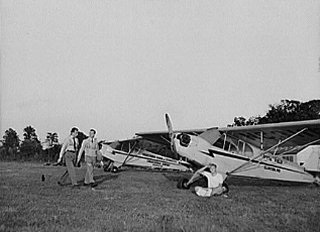 Although the Piper Cub made up the majority of the training airplanes, many other aircraft were utilized.