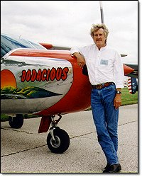 Steve and his Cessna 337 Skymaster 'Bodacious'