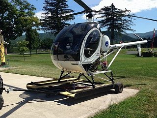 1976 Hughes 269C Helicopter